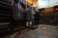 Mr Xe - one of the many tailors in the town